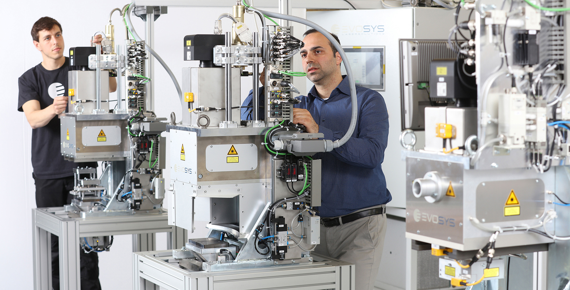 Die Evosys Laser GmbH erzielte mithilfe des Solid System Teams durchgängige digitale Prozesse.