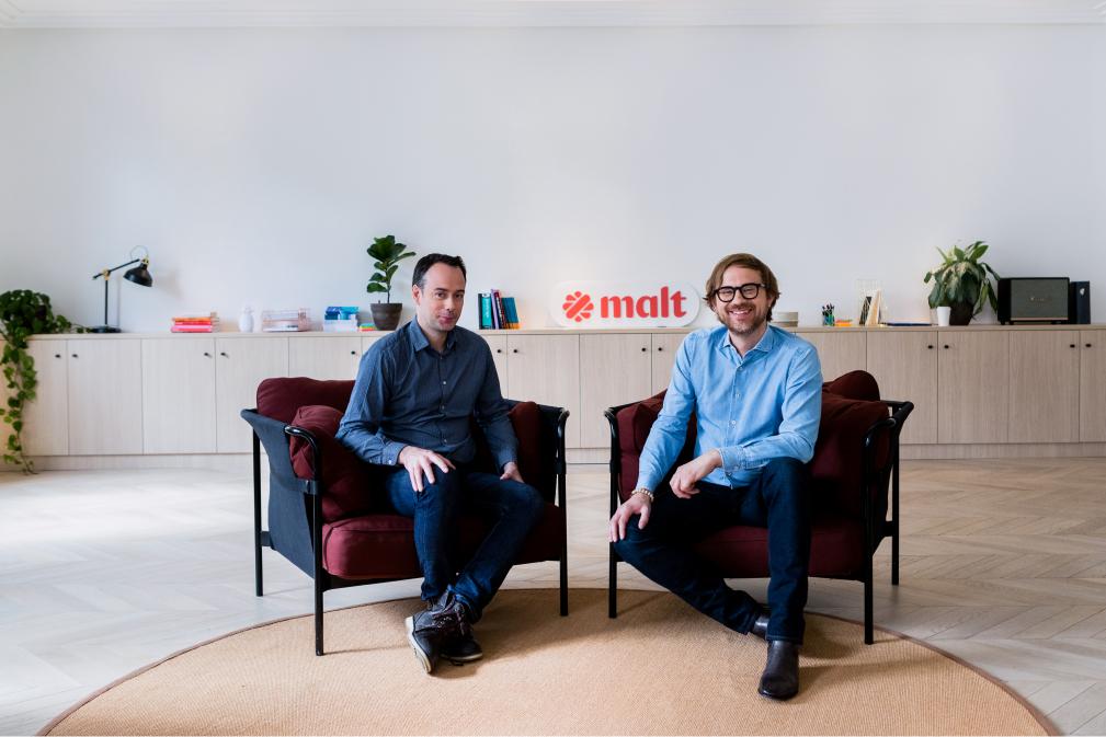 Gründerteam: Hugo Lassiege (CTO) & Vincent Huguet (CEO)
