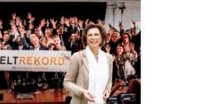 Kölnerin Angelica Egerth ist beim 1. Zoom-Live-Hack Weltrekord dabei: Unternehmensnachfolge