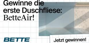 BetteAir Planungs-Contest  Kreative Badideen gesucht