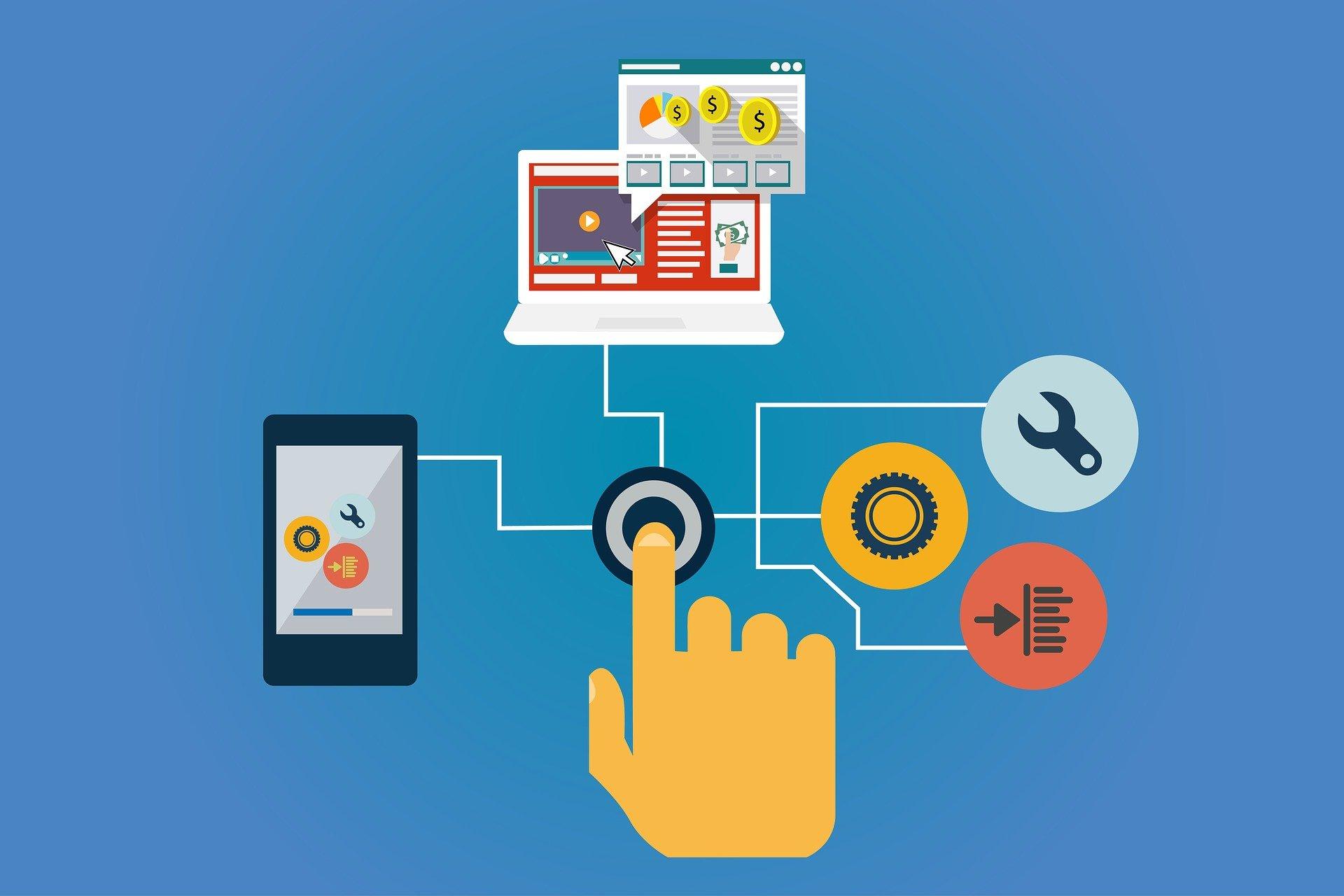 Technologie, die hinter dem Onlinehandel steht, muss sich an die Bedürfnisse des Kunden anpassen.