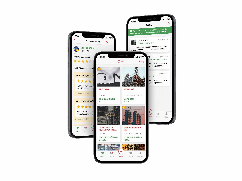 Die App ist in fünf Sprachen verfügbar: Deutsch, Englisch, Tschechisch, Polnisch und Slowakisch