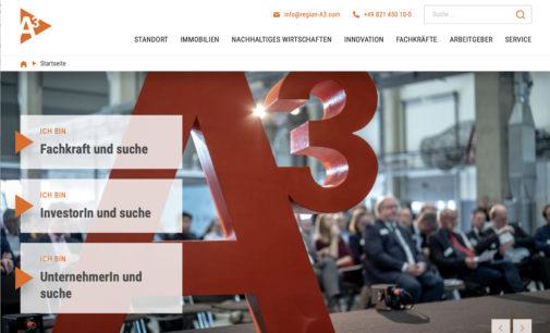 Regio A3 glänzt mit neuem Internet-Portal