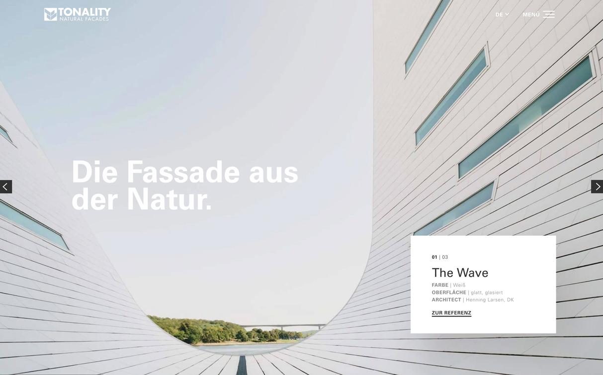 Starker Auftritt für die keramische Fassade - www.tonality.de