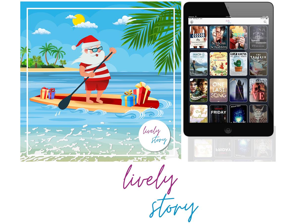Mit lively story erfährt das Leseerlebnis dank Multimedia-Effekten eine neue Dimension.