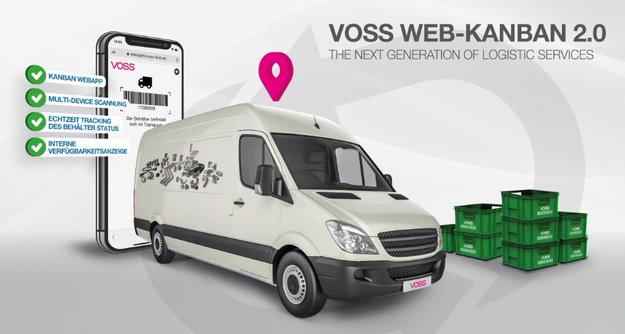 VOSS Fluid hat sein Kanban-System digital aufgerüstet und mit neuen Features versehen