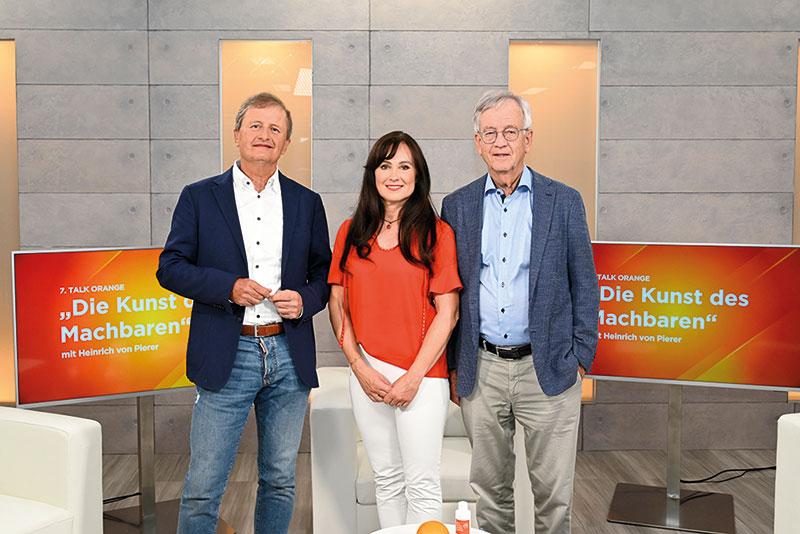 """Unter dem Motto """"Die Kunst des Machbaren"""" ging der 7. Talk ORANGE am 20. Juli live."""