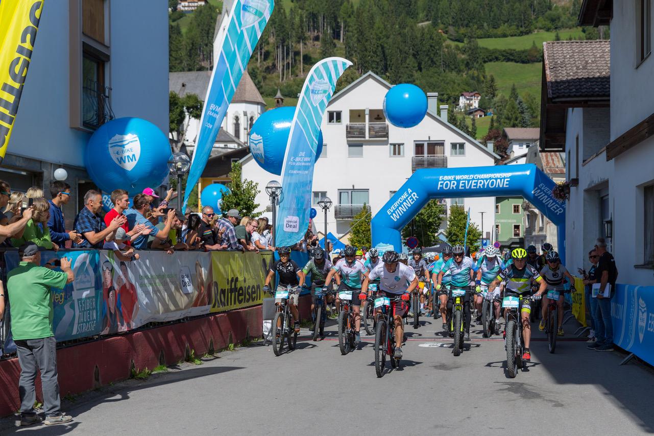 Von 13. bis 14. August 2021 findet die E-Bike WM für Jedermann in Ischgl / Tirol statt.