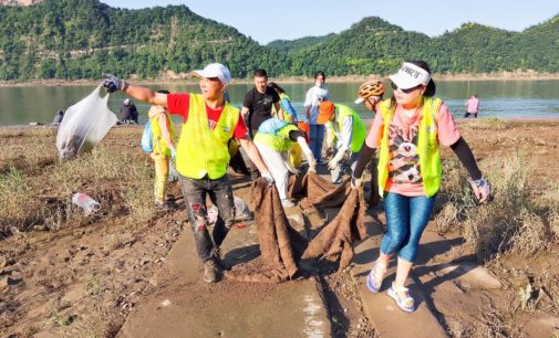 """Die """"Drei-Schluchten-Ameisen"""" von Yichang in China"""