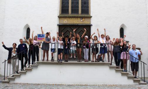 Kick-off zur Singbus-Tour durch Rheinland-Pfalz