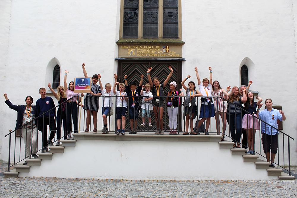 Die Gewinner des Kinderchorland-Preises Rheinland-Pfalz: Junge Kantorei Sankt Maria Kaiserslautern.