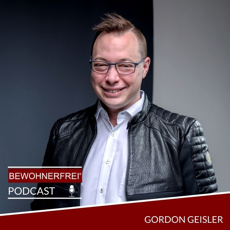 Gordon Geisler im bewohnerfrei-Podcast