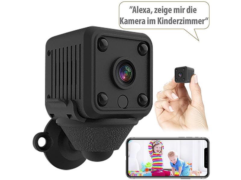7links Mini-IP-Überwachungskamera IPC-130.mini Full HD, WLAN, Nachtsicht, Akku, www.pearl.de