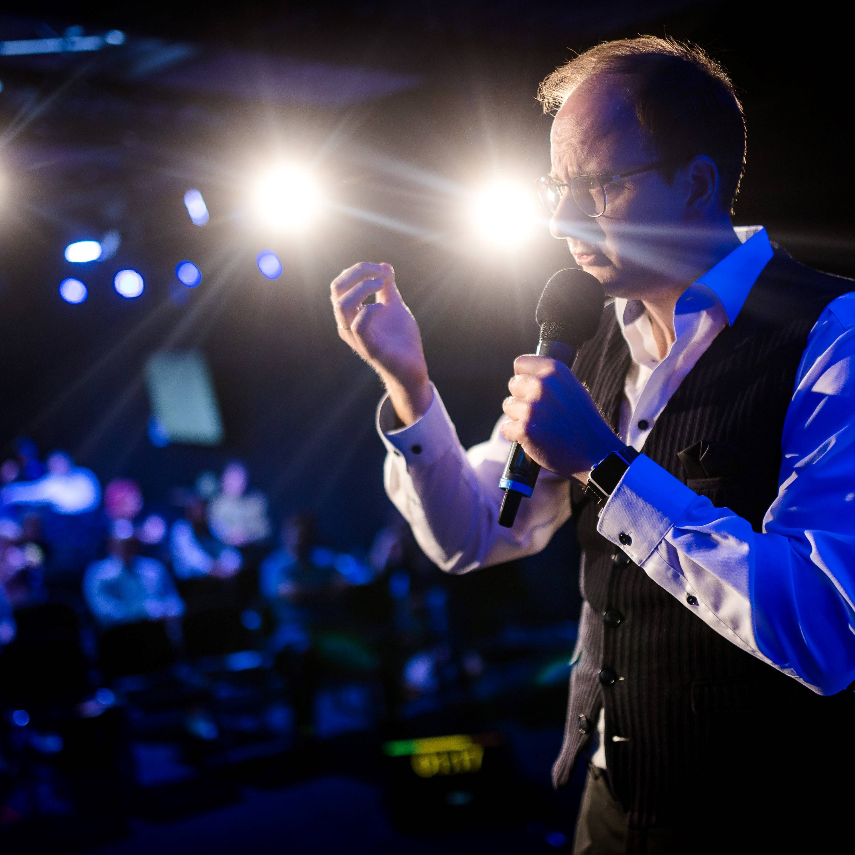 Philipp Schönberger begeistert beim Speaker Slam