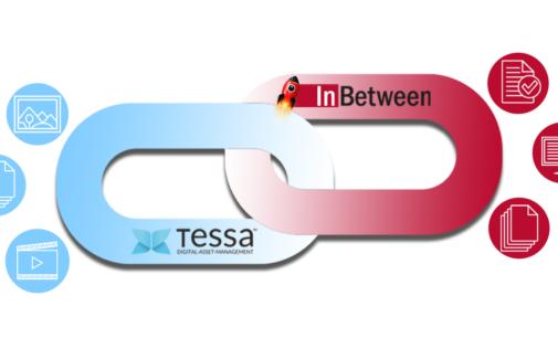 Neue InBetween Schnittstelle zu TESSA DAM (Digital-Asset-Management)