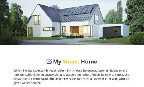 Mit 16 Klicks zum smarten Zuhause