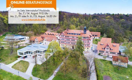 Online-Beratungstage im Lietz Internatsdorf Haubinda