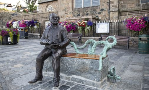 Neue Hommage an Victor Hugo auf Guernsey: