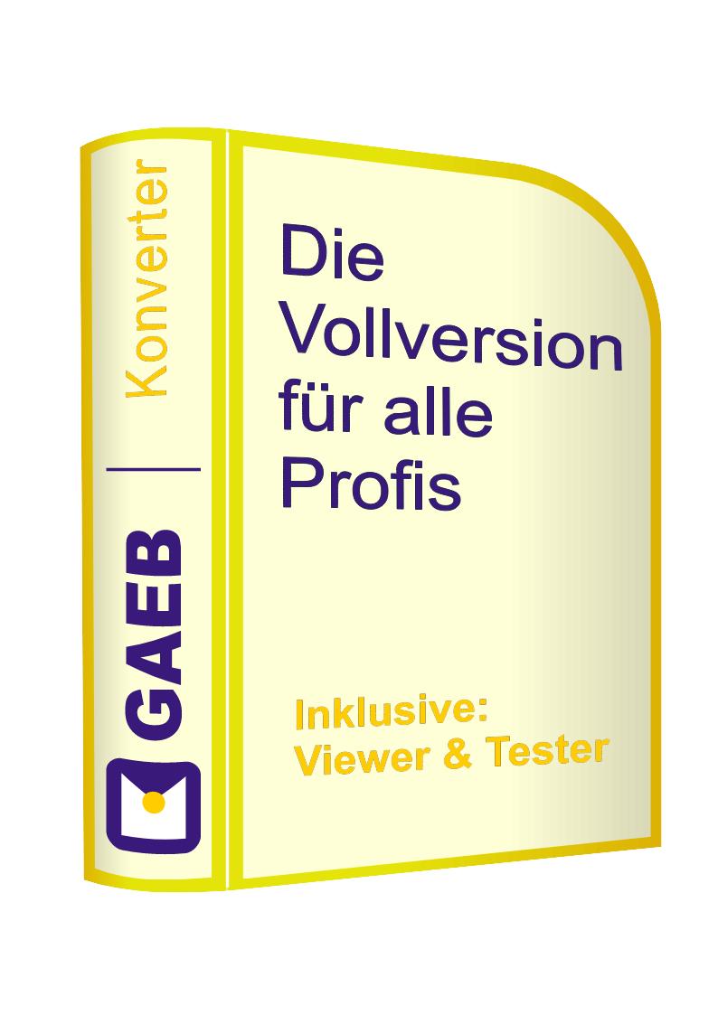 "Software ""GAEB-Konverter"""