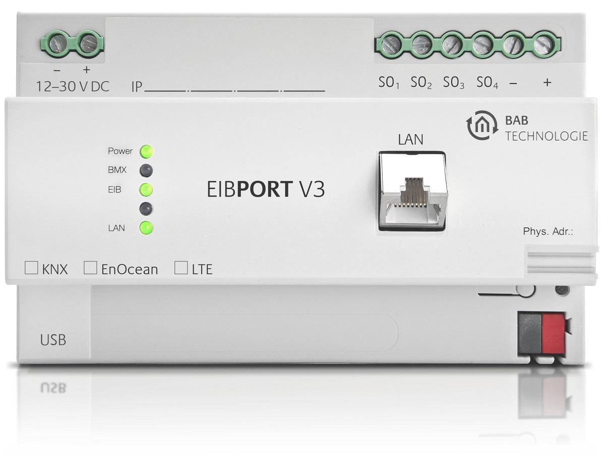 Smart Home Gateway EIBPORT V3 von BAB TECHNOLOGIE