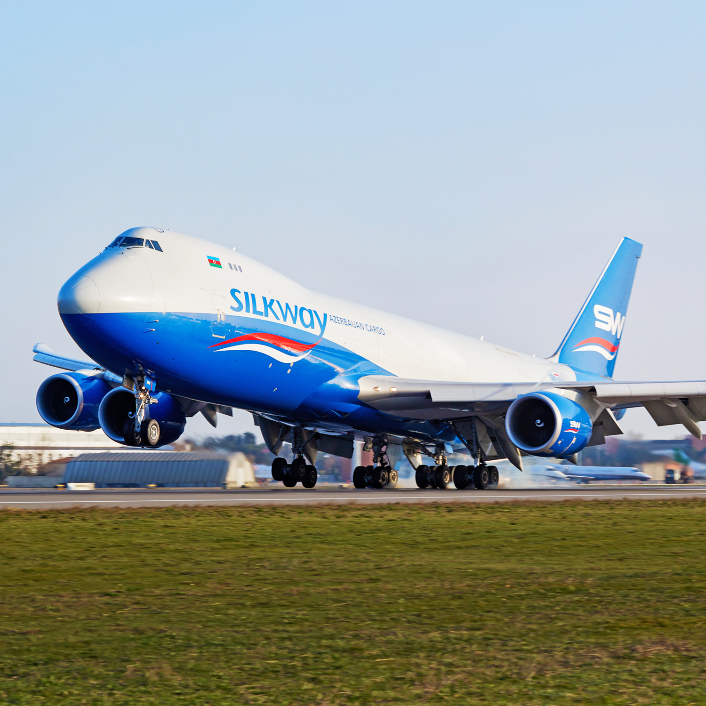 Boeing 747-8F von Silk Way West Airlines