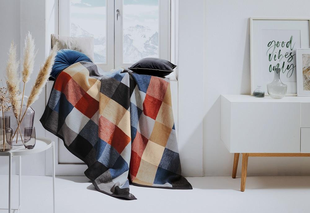 Geometrische Designs wirken modern und trendig.