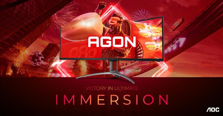 AGON AG493UCX2 – immersiv, leistungsstark, schnell und voller Features