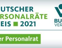 Die Shortlist für den Deutschen Personalräte-Preis 2021