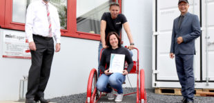 "Reutlingen – mietlager4U ist zertifiziertes ""TOP Sozial""- Unternehmen"