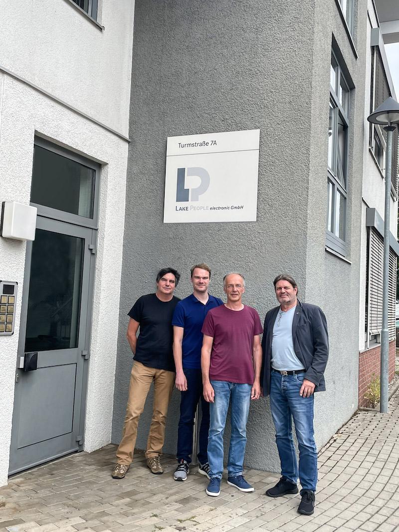 Lake People electronic präsentiert neue Entwickler Helmut Butz und Daniel Suchy