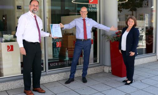 LEMKE hoeren nun TOP Sozial zertifizierter Betrieb