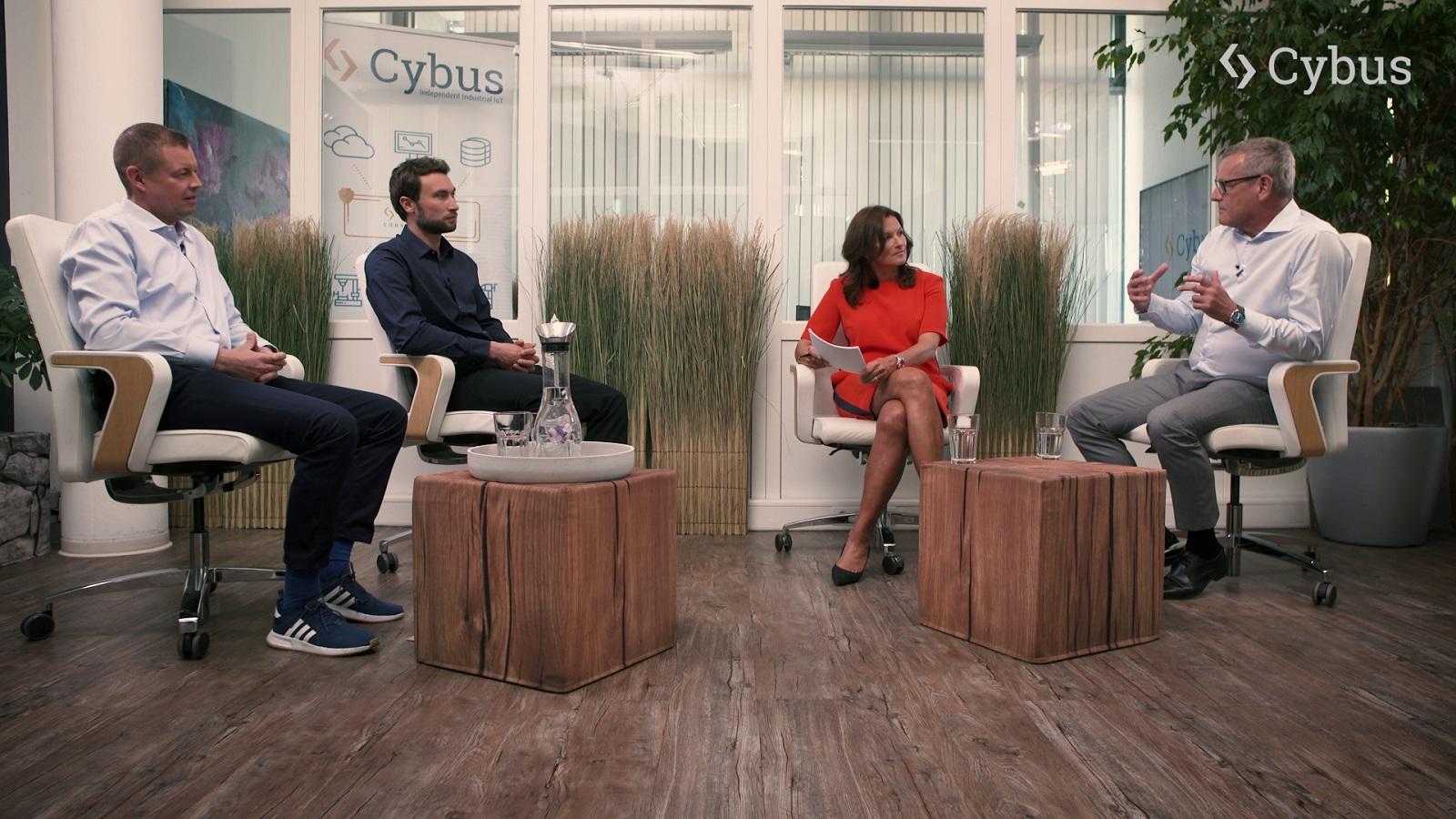 Cybus Experten-Talk mit Ralf-Michael Franke, Peter Sorowka und Carsten Stiller