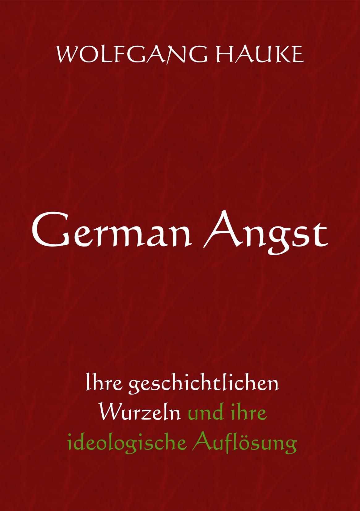 Buchcover German Angst