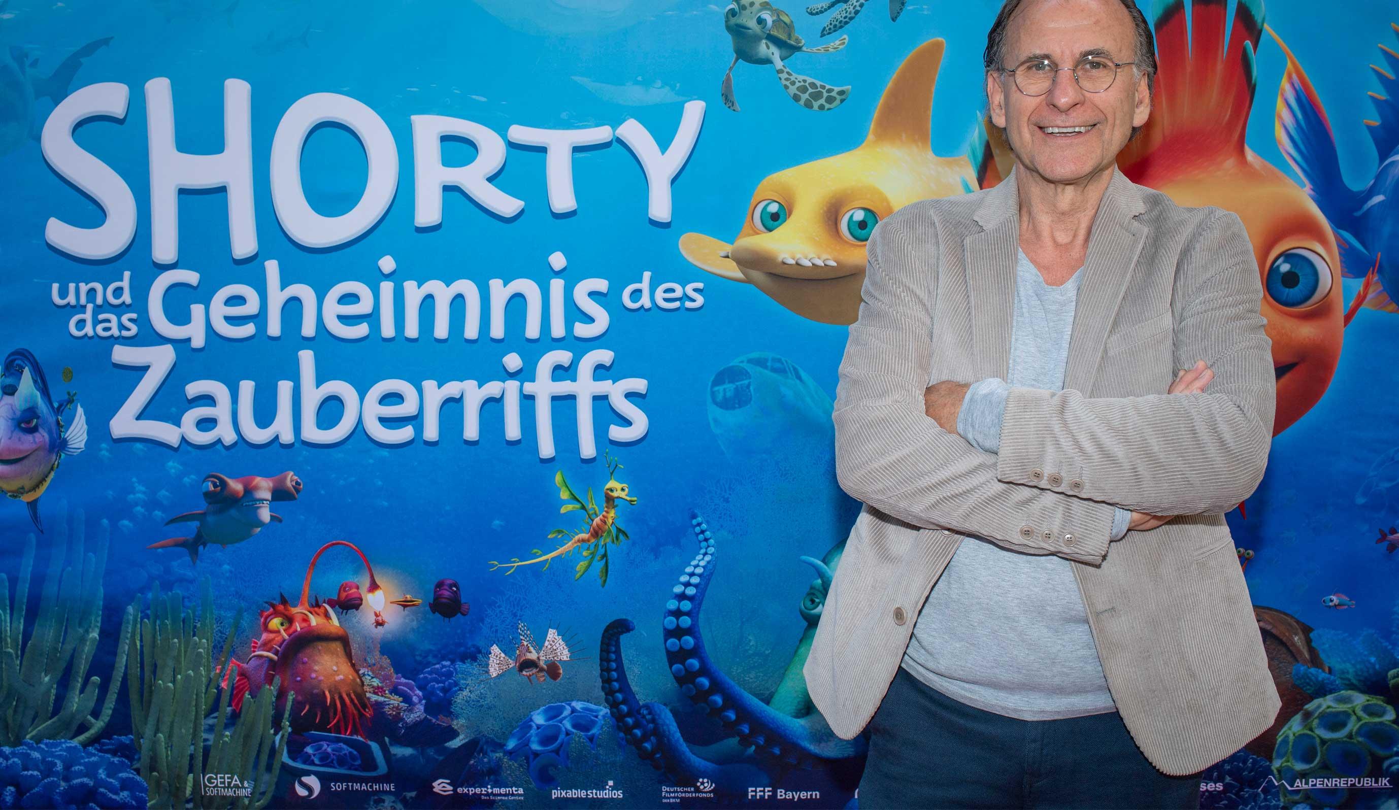 Dr. Peter Popp bei Premiere am 3-7-21