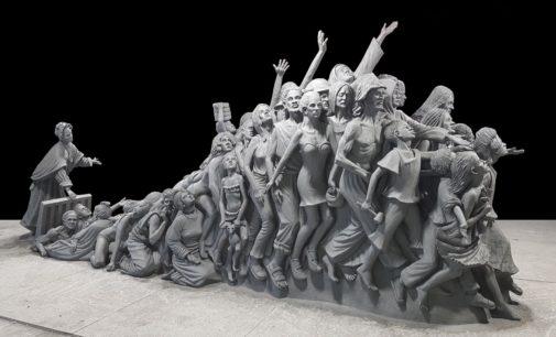 3D-gescannte Statue schafft Bewusstsein für Menschenhandel
