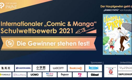 "Internationaler ""Comic & Manga"" Schulwettbewerb 2021 für Schüler/Student"