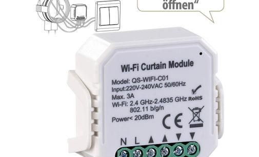 Luminea Home Control WLAN-Unterputzmodul