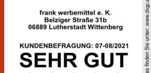 """""""Top Service (DIQP)"""" für WERBOU Werbemittel"""