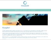 www.wirhelfeneuch.com – die Plattform für kostenlose, mentale Unterstützung für die Opfer der Flutkatastrophe.