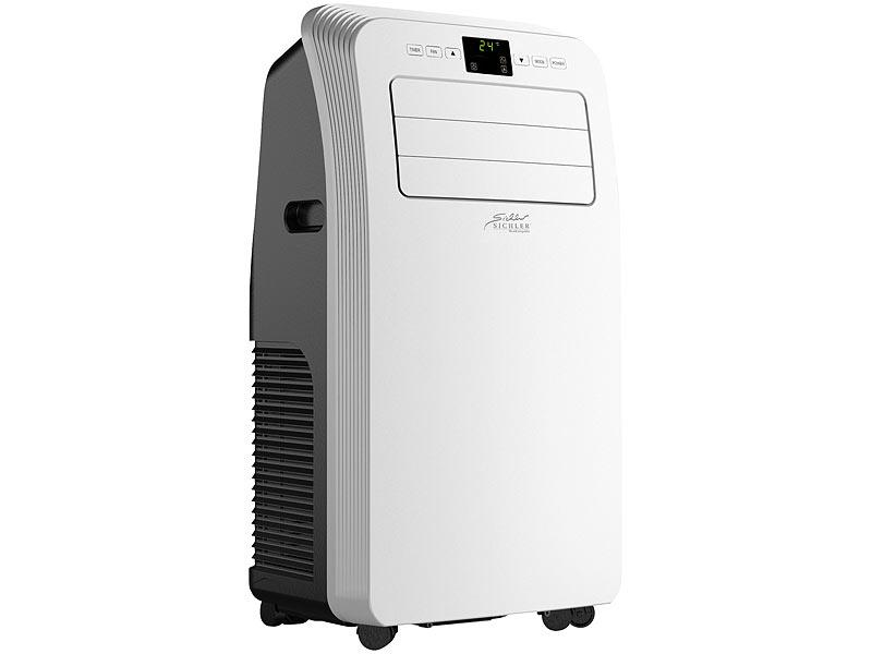 Sichler Haushaltsgeräte Mobile Klimaanlage mit Heiz-Funktion, 12.000 BTU/h, 3.500 Watt, www.pearl.de