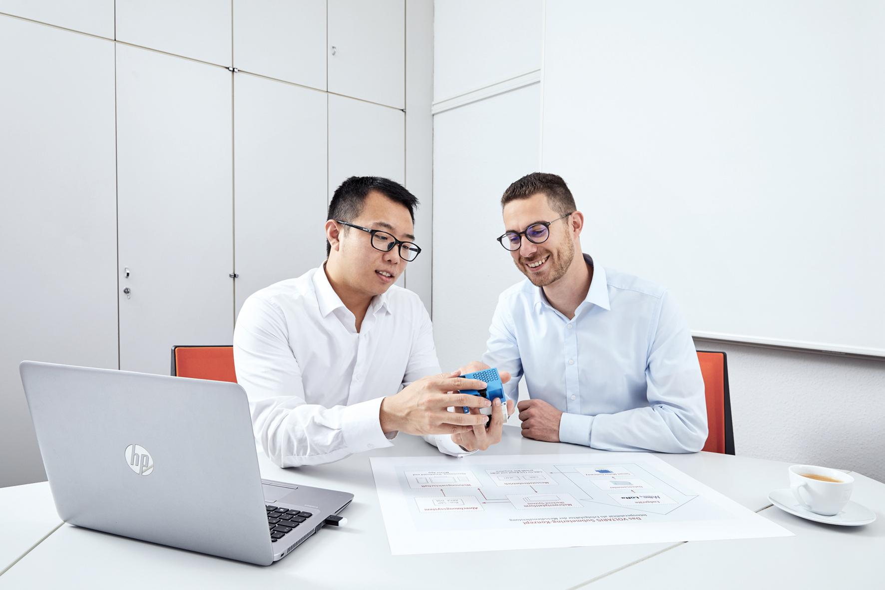 Für die Schnittstellenumsetzung hat VOLTARIS einen Projektzeitplan mit allen Prozessen erarbeitet.