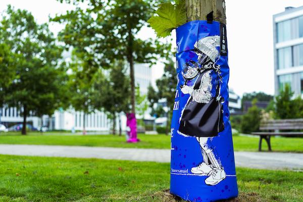 #artfortrees: Design der Street-Art-Künstlerin Strassenmaid
