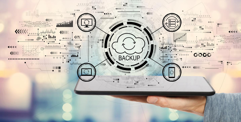 Grafik: Das Thema Backup steht im Mittelpunkt der neuen LIVE-Webinar-Reihe von MTI Technology