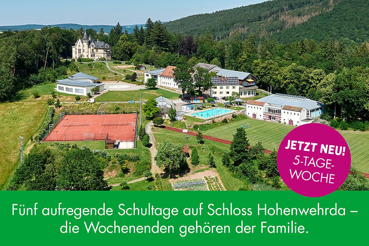 5-Tage-Woche im Lietz Internat Schloss Hohenwehrda