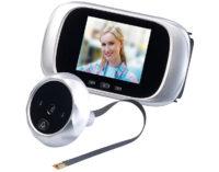 Somikon Digitale Türspion-Kamera mit 7,1-cm-Farbdisplay