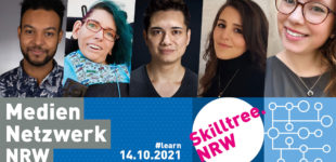 Mediennetzwerk.NRW veranstaltet dritten Skilltree.NRW für Gamesschaffende
