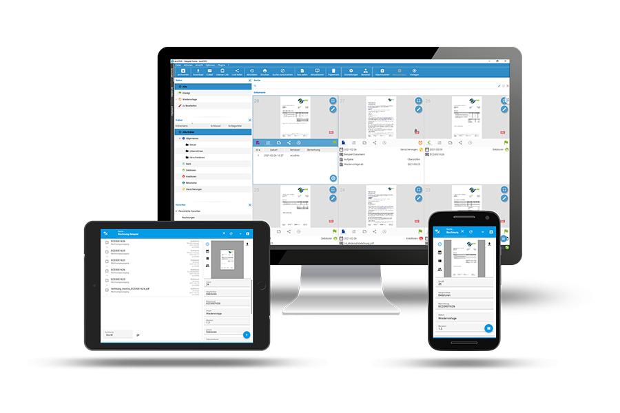 Archivsystem für Smartphone, Tablet und PC