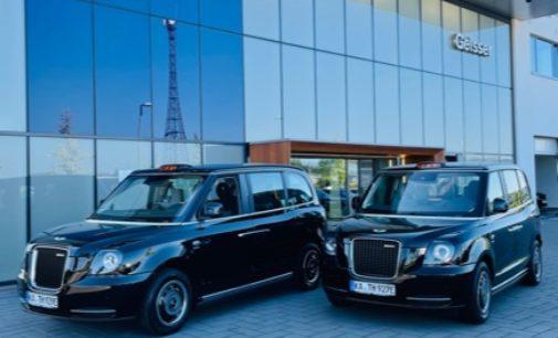 Ein hauch von Great Britain im Karlsruher Taxigewerbe