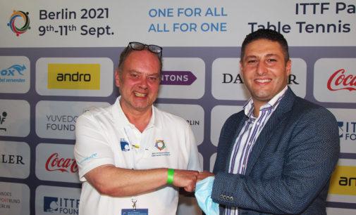 Horn & Görwitz unterstützt die ITTF Parkinson's World Table Tennis Championships 2021 in Berlin