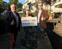 Lions Club Siegburg unterstützt Fluthilfe-Aktion von WISSENschaf(f)t SPASS mit 2.000 Euro